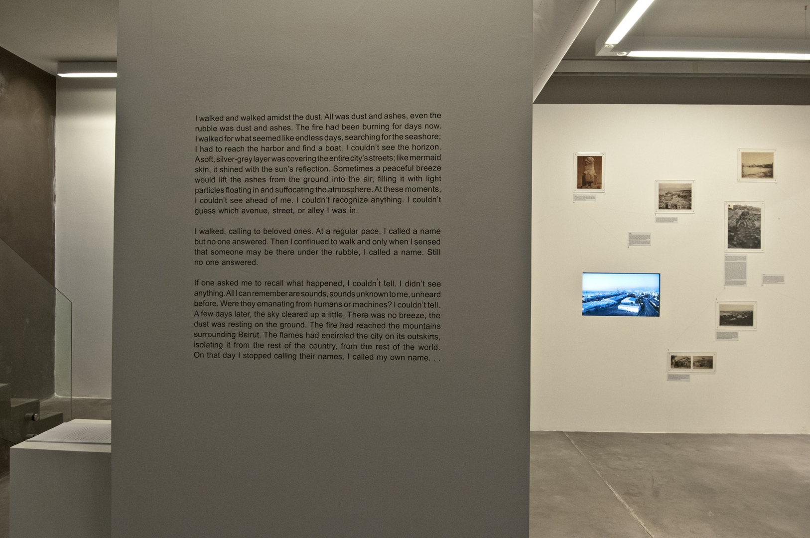 Art Factum Gallery (2013) – Lamia Joreige